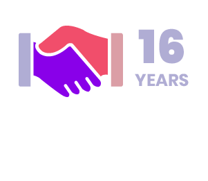 16 Years - Longest Client Partnership